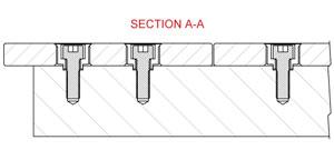 Нові модернізовані монтажні плити зварювального столу BuildPro, система 16